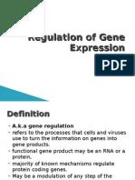 8. Regulation of Gene Expression