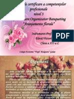 Atestat Aranjamente Florare PPT