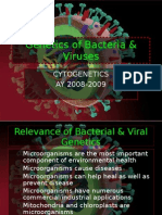 9. Genetics of Bacteria and Viruses