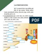 guia elaborada las preposiciones 2°