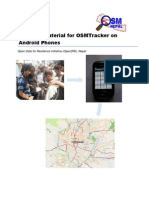 Learning Material for OSMTracker on Android Phones