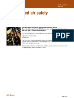 Health and Safety Compressed Air Safety