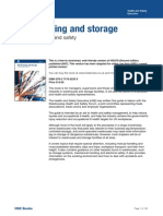 Health and Safety Warehousing and Storage