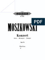 Moszkowsi Piano Concerto, Op. 59 in E major