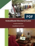 Somaliland Electoral Laws Handbook