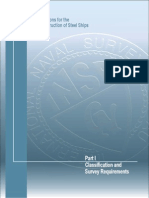 4. Part I-classification and Survey Requirements-edition 2008