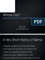 Whose City? Race and the Urban Landscape in Selma, Alabama by Abigail Gautreau
