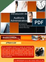 Introduccion a La Auditoria Administrativa