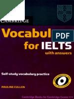 Cambridge Vocabulary for IELTS