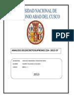 ANALISIS DEL DECRETO SUPREMO 224.docx