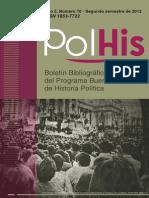 PolHis Año 5 Nro. 10. Segundo semestre de 2012