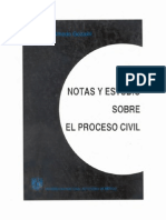 Gozaíni Osvaldo A. Estudio del proceso civil