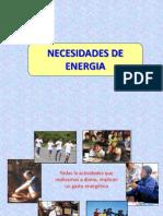 NECESIDADES DE ENERGIA (4º CLASE).ppt