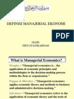 Pengenalan Ekonomi Manajerial dan Pendahuluan S5