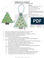 Whimsical Tree Ornament Project Sheet PDF