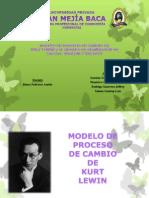 Modelo de Cambio de Kurt Lewin y de Lippitt, Watson Y Westley