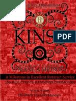 KINSE Souvenir Program