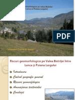 Riscuri geomorfologice pe Valea Bistri+úei +«ntre Lunca...
