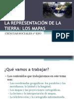 LA REPRESENTACIÓN DE LA TIERRA LOS MAPAS