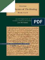 Avicenna-The Physics of the Healing(I-II)