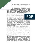 SEÑOR JUEZ DE LO CIVIL Y MERCANTIL DE EL ORO