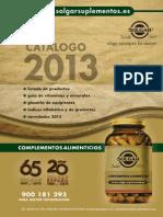 Catalogo Solgar 2013 WEB