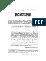 Account of the Loss of Negarais