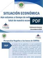 Propuesta Económica de Jenniffer González (2 octubre 2013)