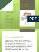 Model Praktik Keperawatan Professional Di Ruang Anak