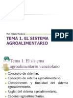 Sistema Agroalimentario Venezolano
