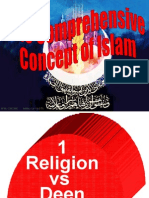 Comprehensive Concept of Islam