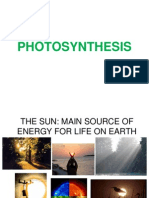 Photosynthesis - LECTURE(2!4!13)