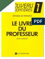 Livre Prof Fr 1