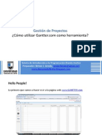 Manual Gantter