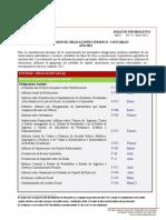 BOLETIN INFORMATIVO - Calendario Obligaciones Juridico - Contables 2013 (1)