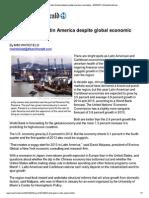 2013 Latin American Economy