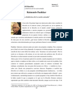 Raimundo Panikkar Topologik 7