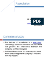 Articles of association PRESENTATION.ppt