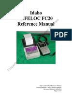 Idaho FC20 Reference Manual Rev 0