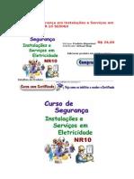 CONTEÚDO PROGRAMÁTICO DO CURSO EM INSTALAÇÃO E SEGURANÇA NR10 ONLINE