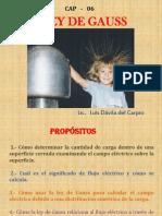 Cap 06 - Ley de Gauss (1)