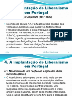 4. A Implantação do Liberalismo em Portugal