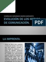 evolucin de los medios de comunicacin