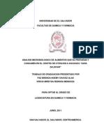 Analisis Microbiologico de Alimentos (Tesis)