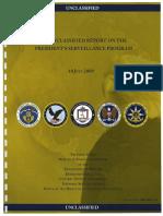 Rapport sur le programme de surveillance après les attentats du 11 septembre 2001 de l'administration Bush (en PDF et en anglais)