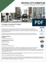 Crystal City Streetcar Newsletter - October 2013