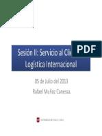 Sesión II  2013