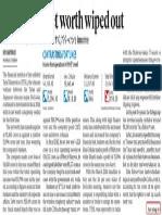 Tata Tele Net Worth