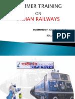 Arun Kumar Ppt on Indian Railway