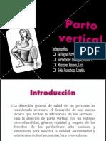Par to Vertical